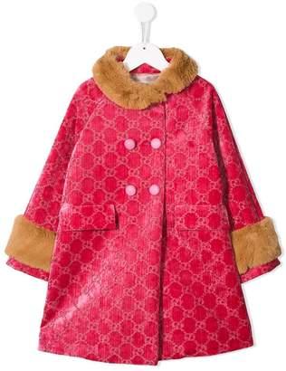 Gucci Kids interlocking GG patterned coat
