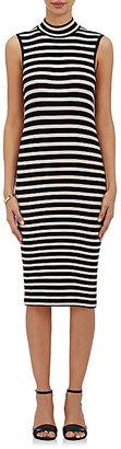ATM Anthony Thomas Melillo Women's Striped Rib-Knit Midi-Dress $325 thestylecure.com