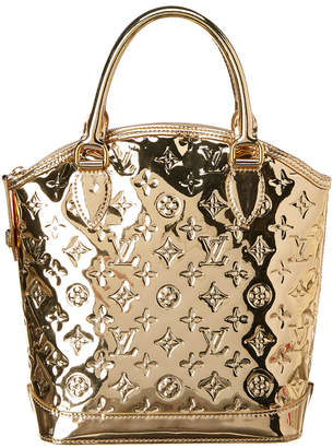 Louis Vuitton Gold Miroir Leather Lockit