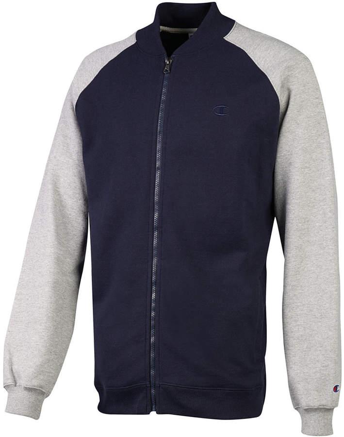Champion Men's Powerblend Zip Fleece Sweatshirt, Created for Macys