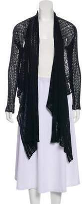 Max Mara Knit Open Front Cardigan