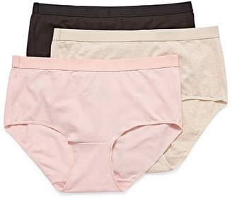 Hanes Ultimate Constant Comfort X-Temp 3 Pair Knit Brief Panty 40xtb5