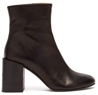 Acne Studios Saul Leather Ankle Boots - Womens - Black