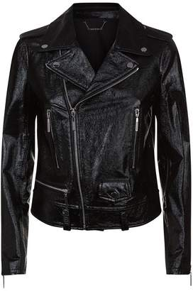 Elie Tahari Jacalyn Leather Jacket