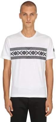 Ermenegildo Zegna Printed Tech Merino Wool T-Shirt