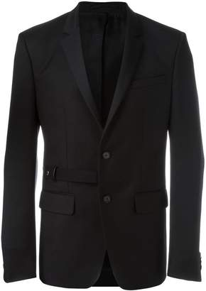 Givenchy belt detail blazer