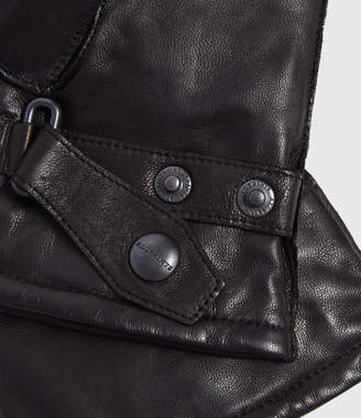 AllSaints Yield Leather Glove