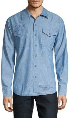G Star Raw Utility Button-Down Shirt