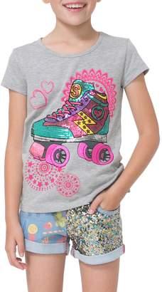 Desigual Roller Skate Cotton T-Shirt