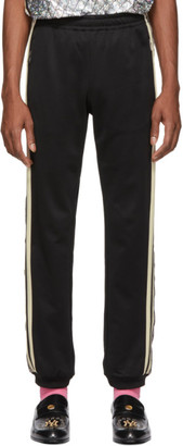 Gucci Black Oversized GG Lounge Pants