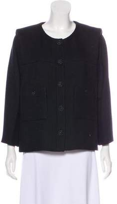 Chanel Tweed Button-Up Jacket w/ Tags