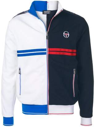 Sergio Tacchini two-tone zipped jacket