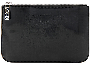 Kenzo Icons Pouch in Black. $125 thestylecure.com