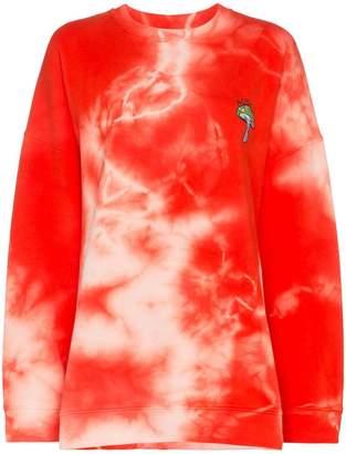 Ganni Stonecrop tie dye sweater