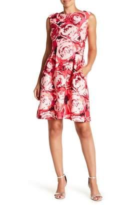 Taylor Rose Print Dress