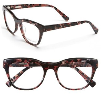 Women's Derek Lam 52Mm Optical Glasses - Burgundy Marble