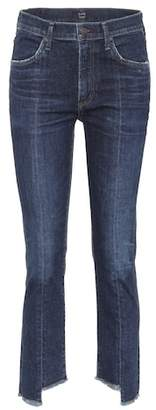 Citizens of Humanity Amari high-waisted cropped jeans