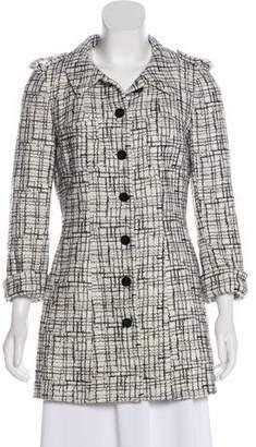 Chanel Tweed Short Coat