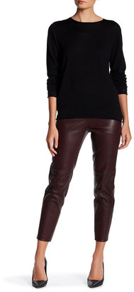 Theory Thaniel Genuine Leather Pant $995 thestylecure.com