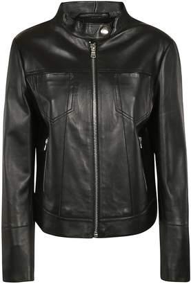 Sportmax Code Zip-up Leather Jacket
