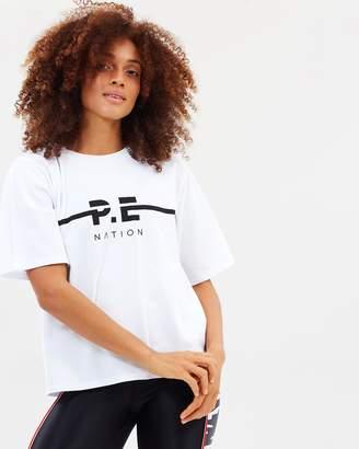 P.E Nation Summer Catch Tee
