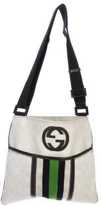 Gucci GG Plus Web Messenger Bag