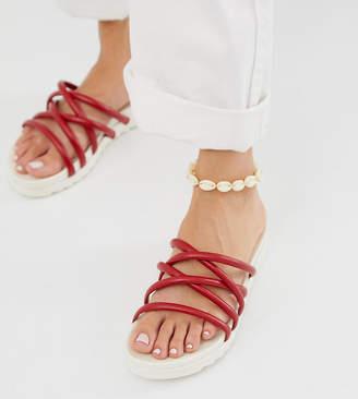 Blink tubular mule flat sandals