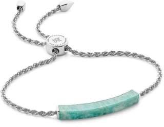 Monica Vinader Linear Semiprecious Stone Friendship Bracelet