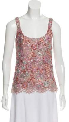 Burberry Embellished Lace Top