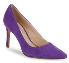 Charles David Denise Suede Point Toe Pumps