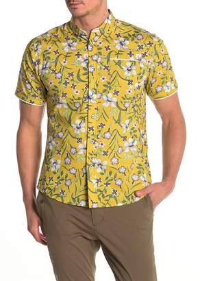Descendant Of Thieves Life Of Nicco Floral Short Sleeve Shirt