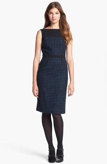 Tory Burch 'Sloane' Tweed Sheath Dress