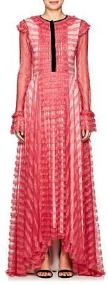 Philosophy di Lorenzo Serafini Women's Lace Long-Sleeve Gown