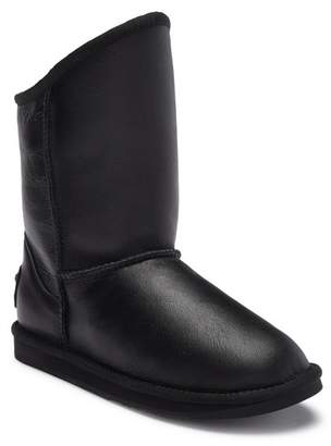 Australia Luxe Collective Cosy Short Genuine Sheepskin Lined Leather Boot