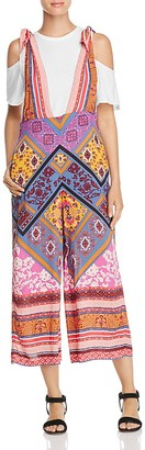 Free People Maritzah Floral Print Jumpsuit $128 thestylecure.com