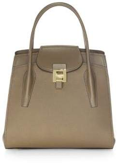 Michael Kors Collection Bancroft Large Desert Leather Tote