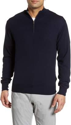 Peter Millar Collection Excursionist Flex Quarter Zip Merino Wool Pullover