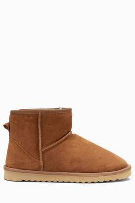 568e89f111699 Next Mens Tan Signature Luxury Suede Boots - Brown