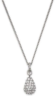 Swarovski crystal teardrop necklace shopstyle at macys swarovski pendant pave crystal teardrop mozeypictures Choice Image