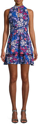 Parker Keyhole Fit-And-Flare Dress
