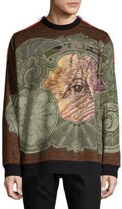 Givenchy Men's Printed Cotton Sweatshirt