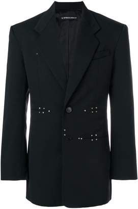 Y/Project Y / Project rivet detail blazer