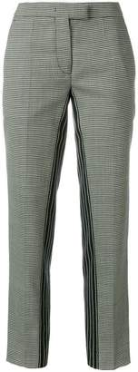 Marco De Vincenzo patterned cropped trousers
