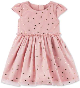 Carter's Baby Girls Star & Tulle Dress