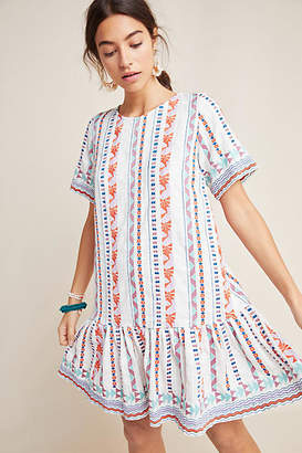 Factory Duet Tildie Embroidered Tunic Dress
