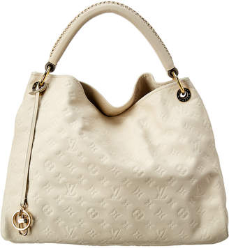 Louis Vuitton White Monogram Empriente Leather Artsy Mm