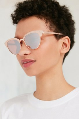 Urban Outfitters Havana Slim Cat-Eye Sunglasses $16 thestylecure.com