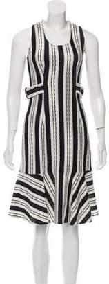 Derek Lam Woven A-Line Dress