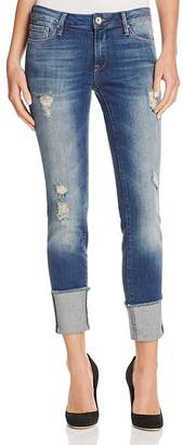 Mavi Erica Skinny Jeans in Indigo Ripped Vintage $118 thestylecure.com