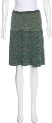 Gucci Mélange A-Line Skirt